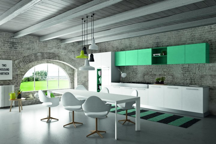 Gloss color | Essebi Cucine | Palmieri Arredamenti | Santa Margherita Ligure